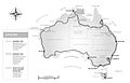 Routes taken by De Williams during her two & half times around Australia on foot..jpg