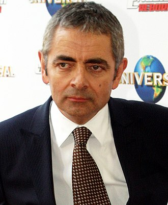 Rowan Atkinson - Atkinson at the Johnny English Reborn première in 2011