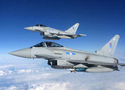 Royal Air Force Typhoon Aircraft from 6 Squadron MOD 45155465