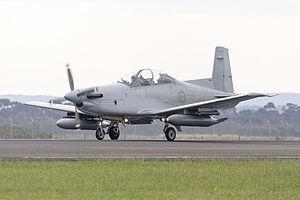 No. 4 Squadron RAAF - A No. 4 Squadron Pilatus PC-9A in 2015