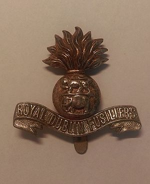 Royal Dublin Fusiliers - Royal Dublin Fusiliers Cap Badge