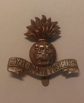 Second Battle of Ypres - Royal Dublin Fusiliers Cap Badge