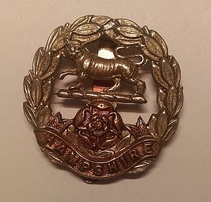 Royal Hampshire Regiment - Cap badge of the Royal Hampshire Regiment.