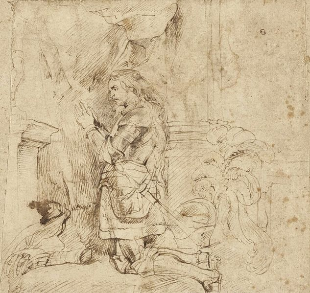File:Rubens Joan of Arc kneeling in armor.jpg