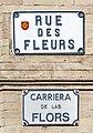 Rue des fleurs (Toulouse) - plaques.jpg