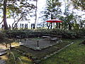 Ruin of pavilion of the Ikeda-shi Garden.jpg