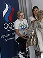 Russian Olympic Committee stand at the Russia House (7741311642).jpg