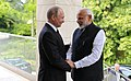 Russian President Vladimir Putin meeting with Indian Prime Minister Narendra Modi in Sochi, Russia (8).jpg