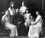 La famille impériale en 1911.