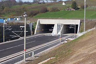 Karlsruhe–Basel high-speed railway - Southern portal of the Katzenberg Tunnel