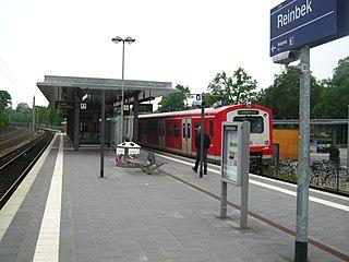 Reinbek station railway station in Reinbek, Germany