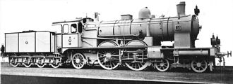 4-4-2 (locomotive) - Prussian S 7 Class