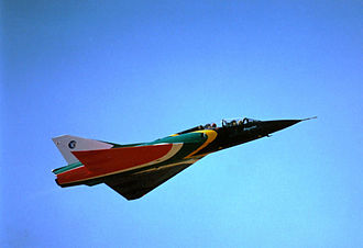Dassault Mirage III - South African Air Force Mirage IIIBZ