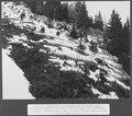 SBB Historic - F 115 00004 062 - Calcestri Airolo - Piotta, Anbruchfläche der Lawine.tiff