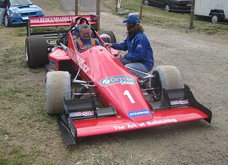 Hillclimbing - Peter Gumley has won the Australian Hillclimb Championship in his SCV on ten occasions