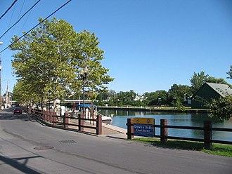 Seneca Falls (CDP), New York - Seneca Falls Canal Harbor