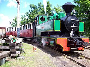 Sittingbourne and Kemsley Light Railway - Image: SKLR Triumph 1