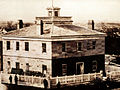 SLC (Utah) Council House in 1869.jpg