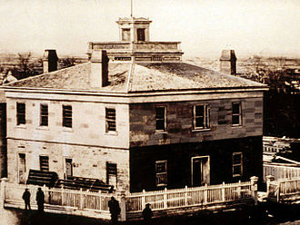 Council House (Salt Lake City) - The Council House in 1869