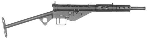 STEN MK II submachinegun