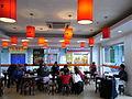 SZ 深圳 Shenzhen 僑社汽車客運站 Qiaoshe Bus Terminal restaurant interior April-2012.JPG