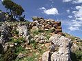 Sabine Beckmann Vrachasi Mt Anavlochos ancient ruin 4 12.jpg
