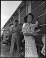 Sacramento, California. This young woman of Japanese ancestry received credentials from the San Jos . . . - NARA - 537790.tif