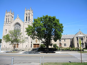 Sacred Heart Cathedral (Rochester, New York) - Image: Sacred Heart Cathedral Rochester New York Complex