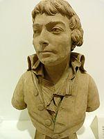 Buste en terre cuite au musée Lambinet à Versailles.