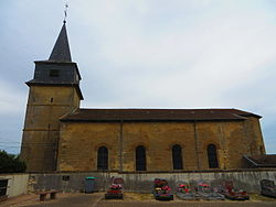 Saint-Laurent-sur-Othain L'église Saint-Laurent.JPG