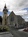 Saint-Méen-le-Grand (35) Abbatiale Façade sud 01.JPG