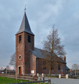Saint-Michel church in Fontenoy (DSCF5104) Antoing, Belgium.png