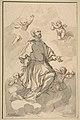 Saint Augustine on Clouds Surrounded by Angels MET DP816824.jpg