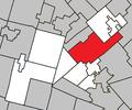Sainte-Adèle Quebec location diagram.png