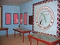 Sala de Museo del Ejercito de Liberacion Popular en Rabuni, en los campos de refugiados saharauis de Tinduf.jpg