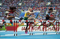 Corrida 100m Com Barreiras (fem)