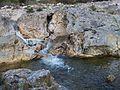 Salt d'aigua del riu Gorgos al seu pas per Xaló.JPG