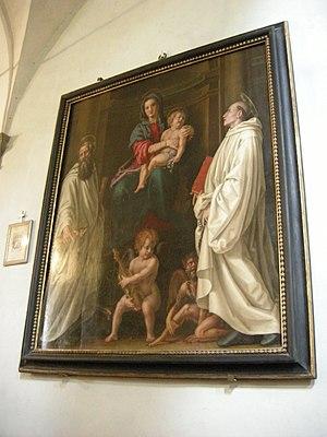 Pier Francesco Foschi - Image: San Barnaba, pier francesco foschi, madonna col bambino e santi