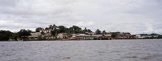 San Carlos, Río San Juan - Image: San Carlos desde lago
