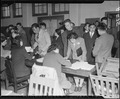 San Francisco, California. Residents of Japanese ancestry are being registered prior to their evacu . . . - NARA - 536216.tif