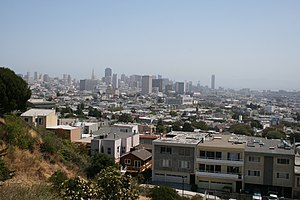 Randall Museum - View of downtown San Francisco from the Randall Museum