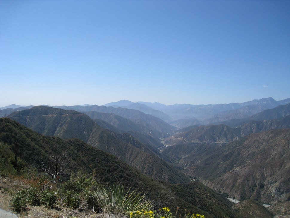 San Gabriel Mountains 3, CA
