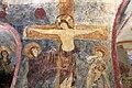 San lorenzo in insula, cripta di epifanio, affreschi di scuola benedettina, 824-842 ca., crocifissione coi dolenti e l'abate epifanio 03.jpg