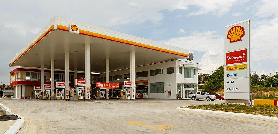 Sandakan Sabah Shell-Station-Labuk Road-01