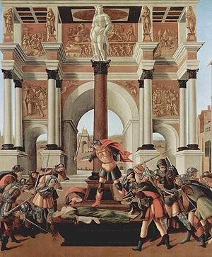 The Story of Lucretia (Botticelli)