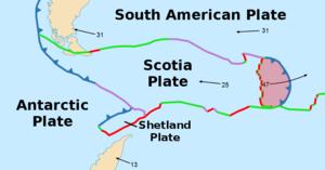 South Sandwich Plate - Image: Sandwich Plate