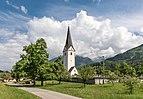 Sankt Margareten im Rosental Pfarrkirche hl Margaretha NW-Ansicht 09052018 3194.jpg