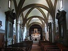 Chiesa e convento di santa croce in fossabanda wikipedia for Interno a un convento