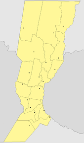Santa Fe Province Wikipedia - Argentina political map 1996