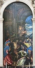 Santa Giustina (Padua) - Martyrdom of St. James the Less by Carlo Caliari